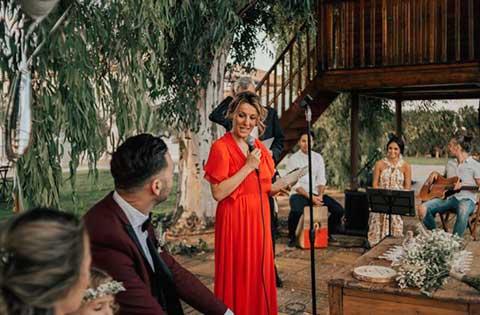 Ceremonia con Grupo Flamenco